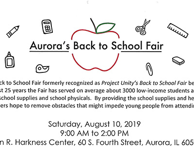 Back to School Fair August 10